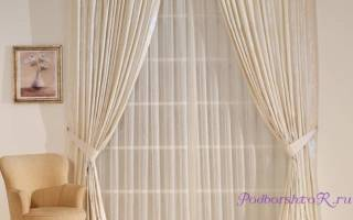 Как выбрать шторы и тюль для зала