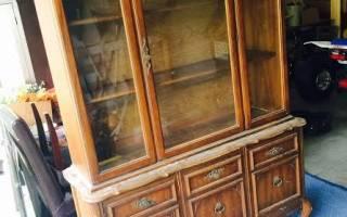 Как реставрировать старый шкаф своими руками