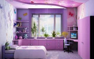 Как обустроить маленькую комнату для подростка девочки