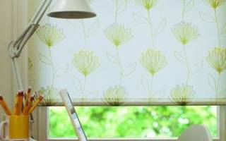 Как сделать ролеты на окна своими руками