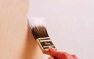 Как красиво покрасить фанеру