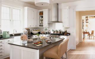 Как построить кухню в частном доме