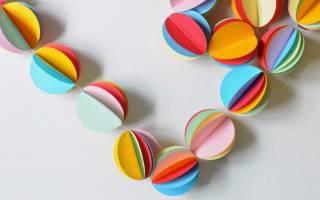 Изделия из цветной бумаги своими руками