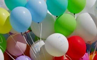 Как сделать композицию из шаров своими руками