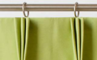 Как пришить тесьму к шторе пошагово
