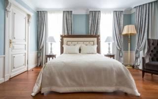 Как красиво повесить шторы в спальне