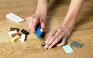 Как починить ламинат не разбирая