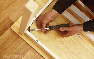 Фурнитура для сборки мебели своими руками