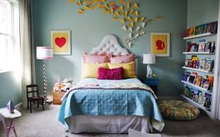Как сделать комнату для девочки 12 лет
