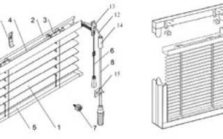 Как снять рулонные жалюзи с окна