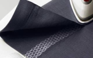 Как укоротить шторы не подшивая