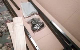 Как собрать кровать с ортопедическим основанием инструкция