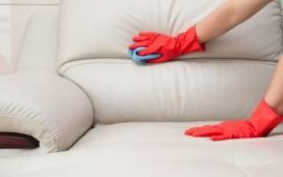 Как стереть ручку с кожи дивана
