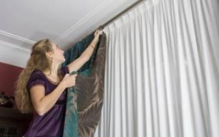 Как поставить люверсы на шторы своими руками