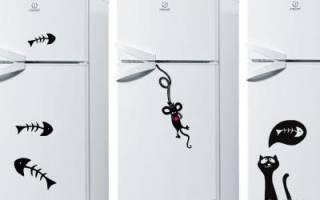 Как обновить холодильник снаружи