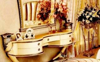 Туалетный столик с зеркалом своими руками