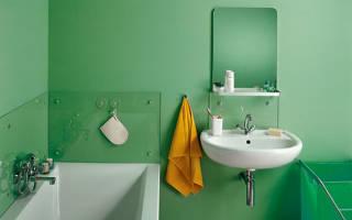 Какой краской лучше красить стены в ванной