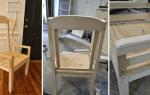 Как переделать старый стул своими руками
