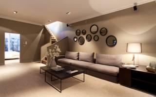 Как оформить стены в гостиной современный дизайн