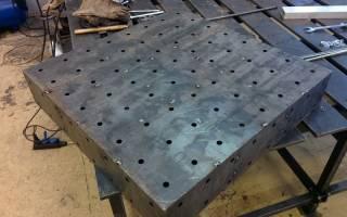 Как сварить стол из металла своими руками