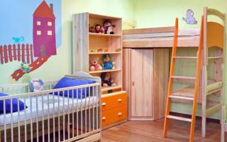Как обустроить детскую комнату для двоих детей