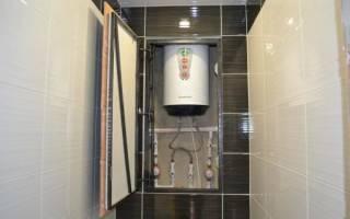 Как закрыть канализационный стояк на кухне