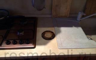 Как починить столешницу на кухне