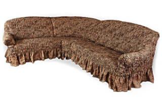 Как раскроить чехол на угловой диван