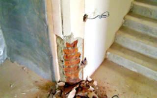 Как закруглить угол стены в квартире