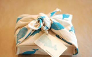 Как запаковать книгу в подарочную бумагу