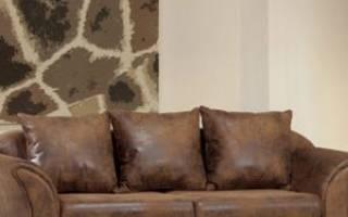 Кот поцарапал кожаный диван что делать