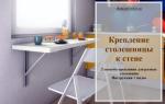 Как крепится столешница к кухонным столам