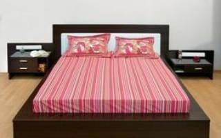 Как по феншую поставить кровать в спальне