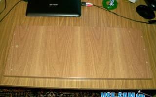 Столик под ноутбук своими руками