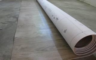 Можно ли класть линолеум на бетонный пол