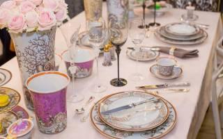 Как правильно накрыть стол для гостей