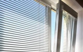 Как крепятся горизонтальные жалюзи на пластиковые окна