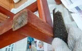 Как правильно покрасить мебель из дерева