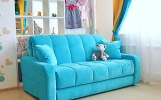 Как собрать раскладной диван